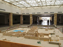 Model of Temple of Amun-Ra and Temple of Karnak in its heyday (Luxor West Bank, Egypt)