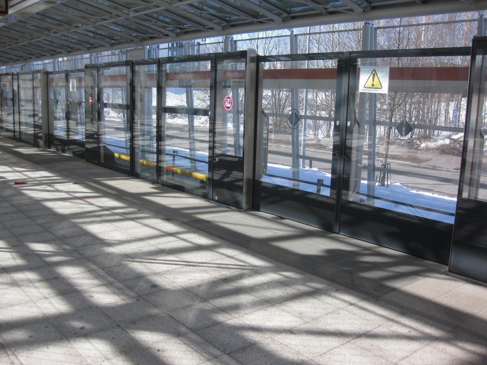 Etanatikku Metroaseman uudet ovet ovat tämännäköisiä