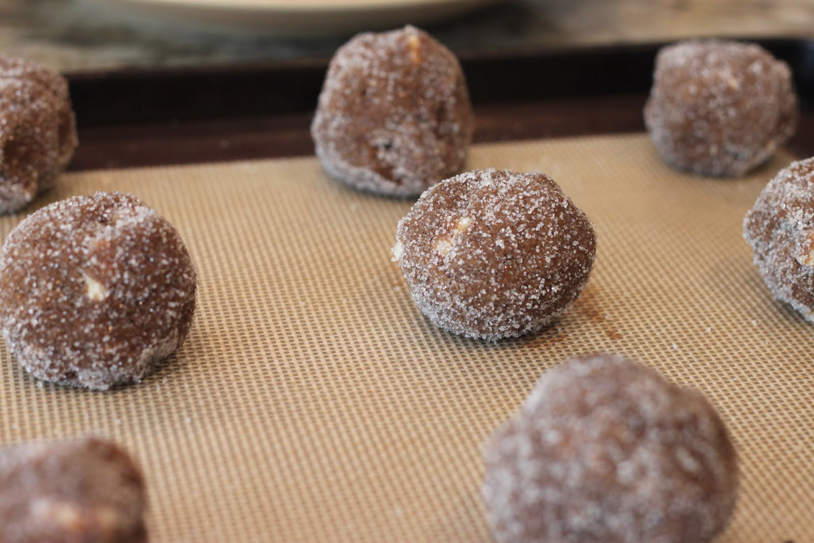 Thank God It's Pie-day: Soft Gingersnap Cookies with White ...