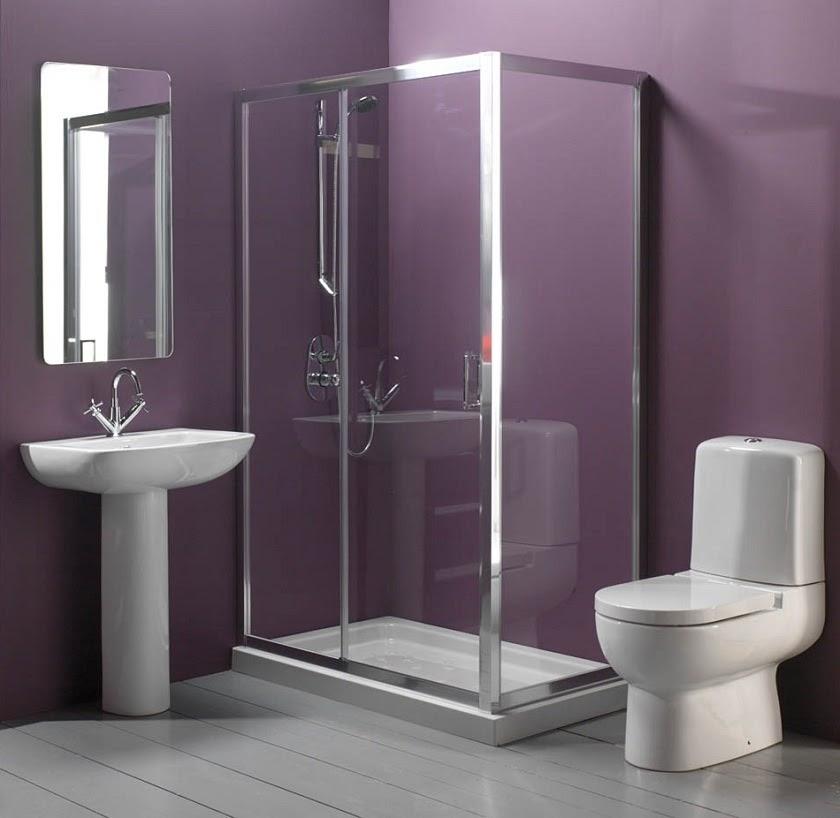 Small Walk-In Doorless Shower Designs