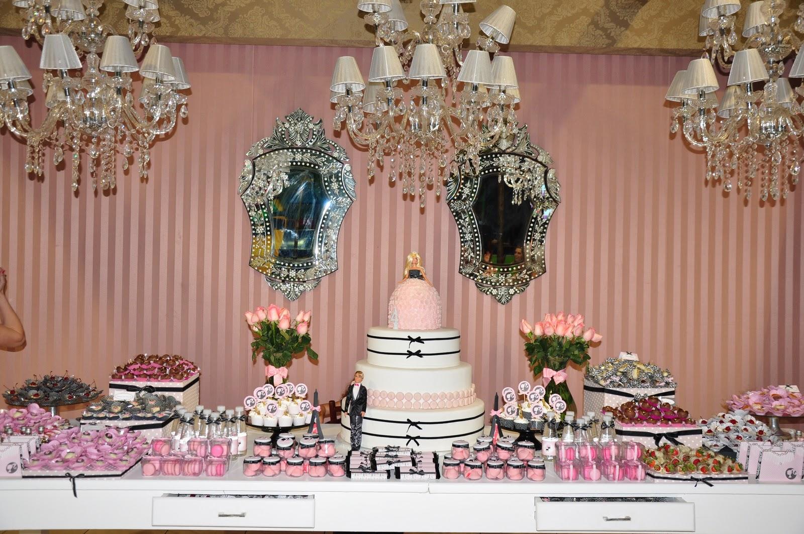 decoracao festa barbie : decoracao festa barbie:Festa Barbie Moda e Magia