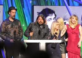 Rock and Roll Hall of Fame Nirvana 2014