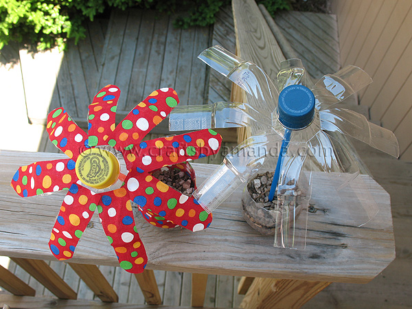 Earth Day Crafts For Kids Recycling Plastic Bottles