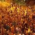Prefeito da Prata e militância do 40(Ricardo Coutinho) lota as ruas da cidade