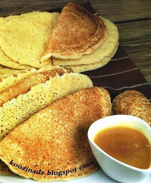 La Cuisine Algerienne: La Cuisine Algérienne: El Baghrir
