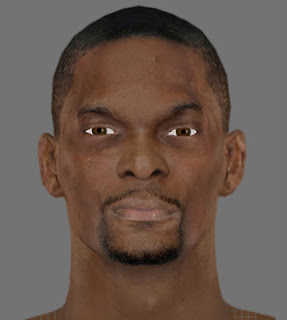 NBA 2K13 Chris Bosh Cyber Face Mods
