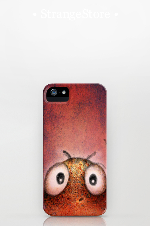 strangestore, undroid, paul stickland, iphone cases,