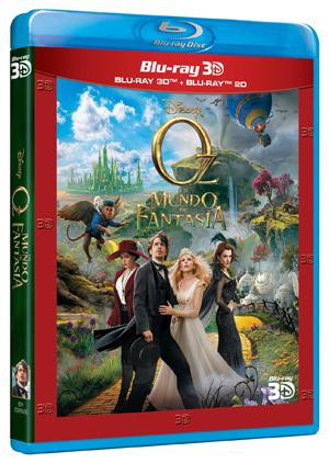 Oz, un mundo de fantasía - DVD, Blu-Ray y 3D Combo