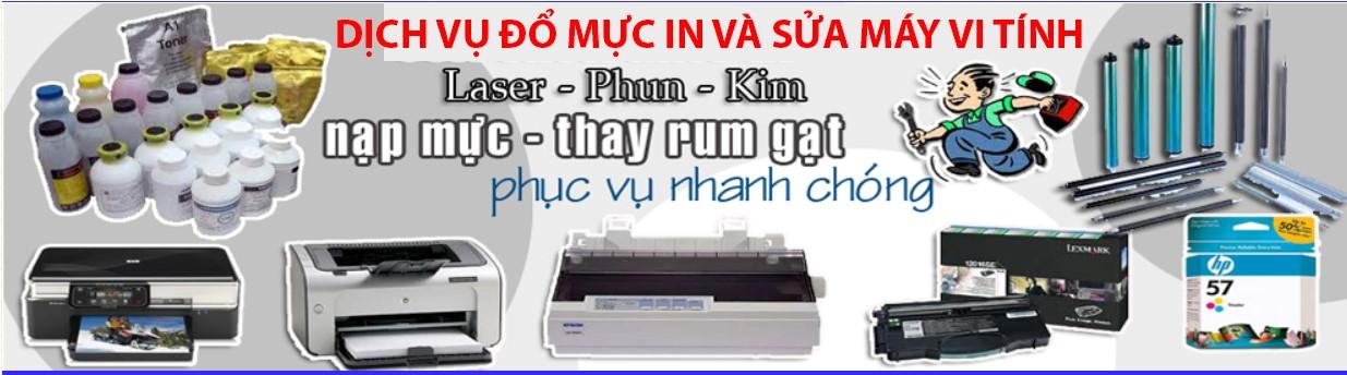 Dịch vụ đổ mực máy in - Sửa Máy Tính Tại Hà Nội