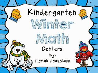 Kindergarten Winter Math