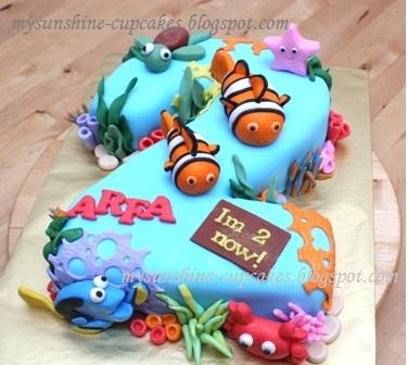 2nd Birthday Cake Designs For Baby Girl : Mysunshine Cake: January 2012