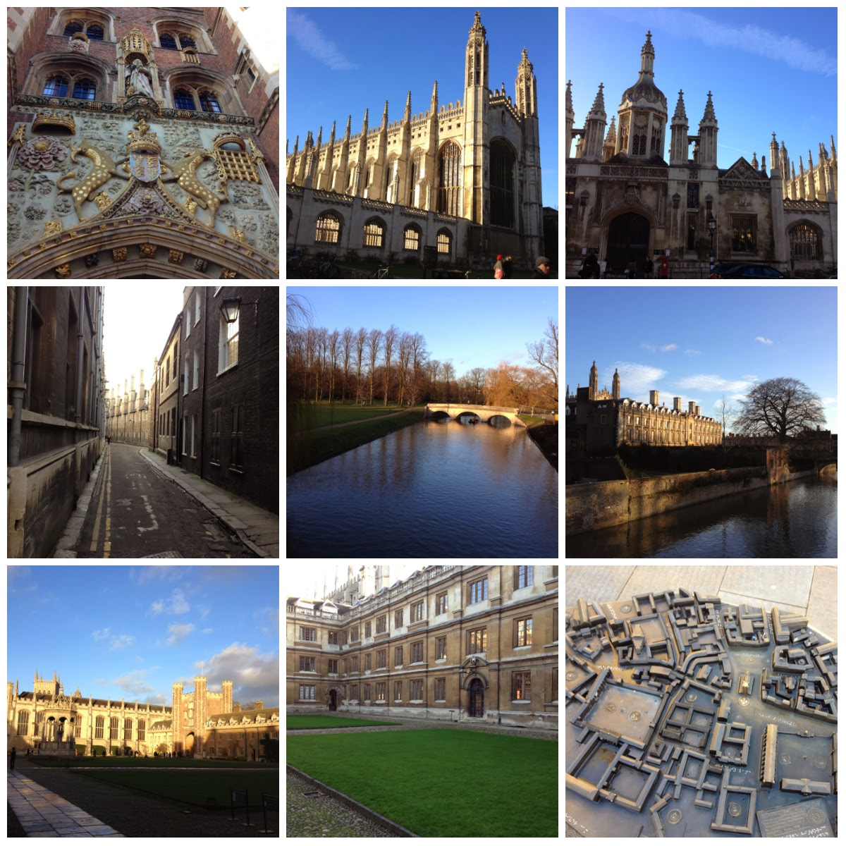 One my day around cambridge