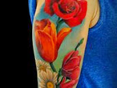 #2 Best Flowers Tattoo Designs