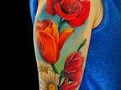 #2 Best Flowers Tattoo Designs
