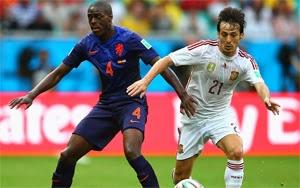 ملخص واهداف مباراة اسبانيا وهولندا كاس العالم بالبرازيل 2014 يوتيوب