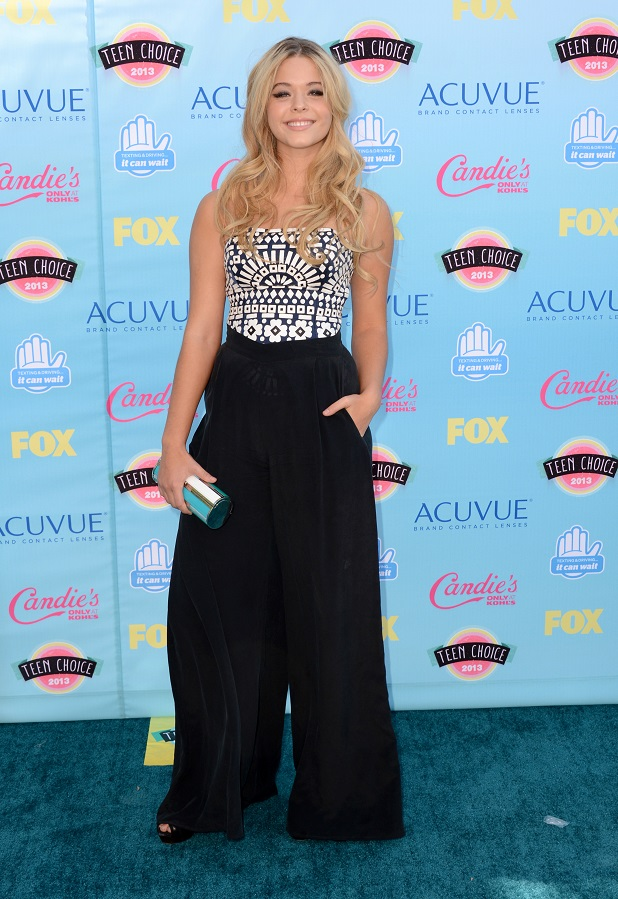 Sasha Pietrse 2013 Teen Choice Awards