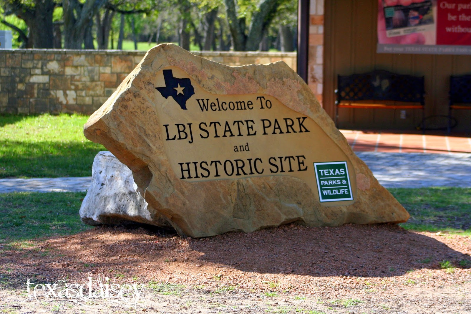 Lyndon B Johnson State Park, Historical Texas
