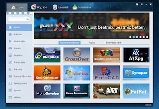 Linux Deepin 2014 screenshots
