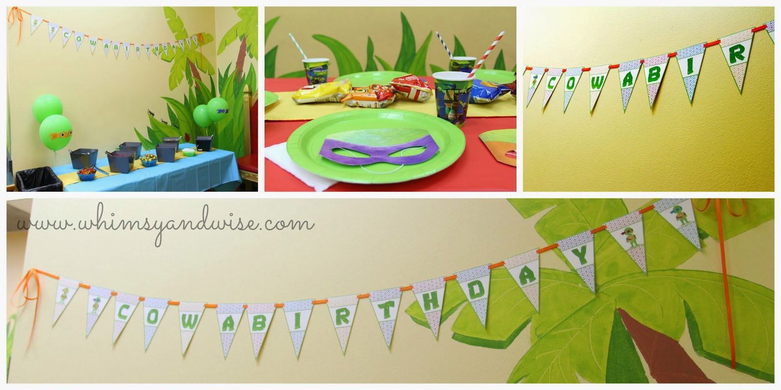 Its A TMNT Birthday Party