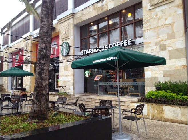 Starbucks: Hard Rock Hotel Kuta Bali