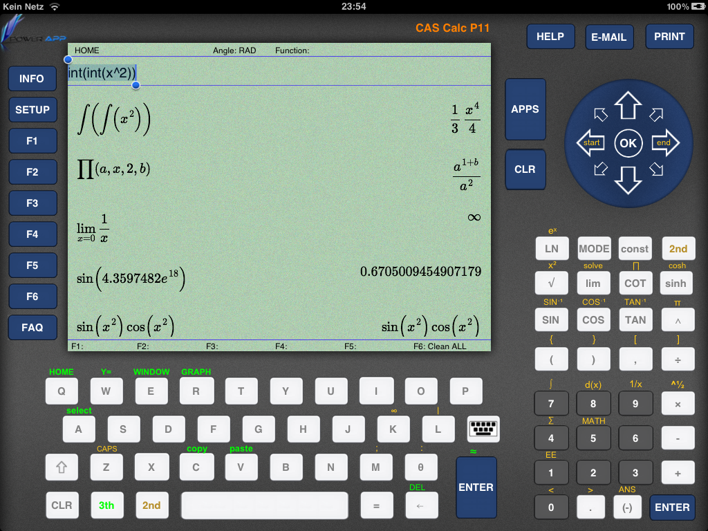 Cas Cal Cas Calc P11 Scientific Graphing Calculator For Math And