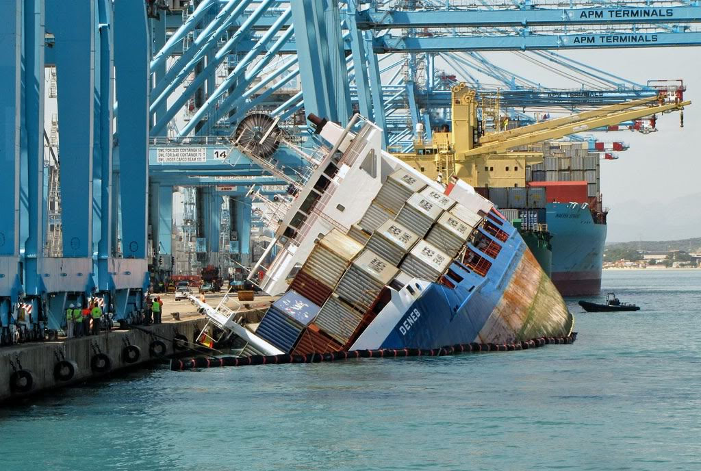 Felixstowe Dockers: Container Ship Catastrophes