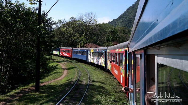 De Curitiba à Morretes de Trem