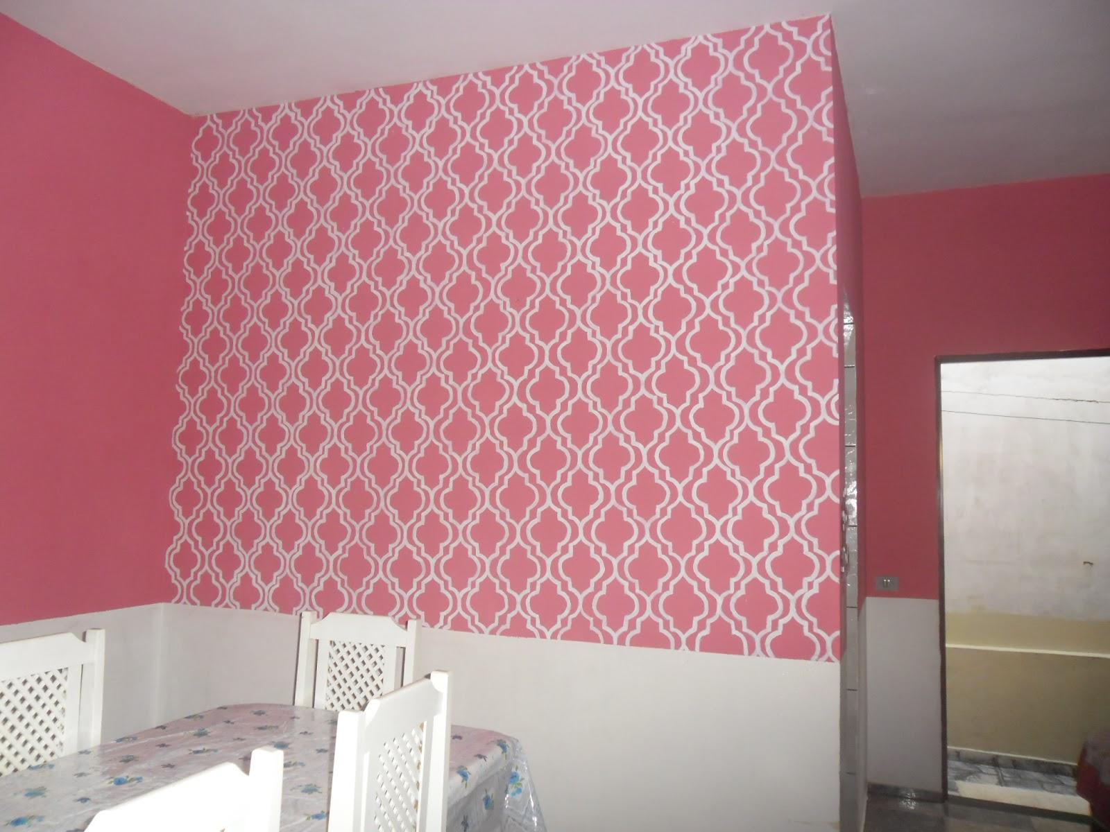 V mo l em casa decorando as paredes for Moda en pintura de paredes