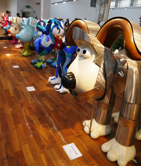 Gromit Unleashed Greatest Dog Show on Earth exhibition