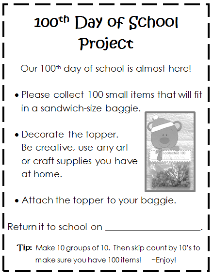 http://www.teacherspayteachers.com/Product/100th-Day-Collection-cute-toppers-to-attach-to-baggies-522994