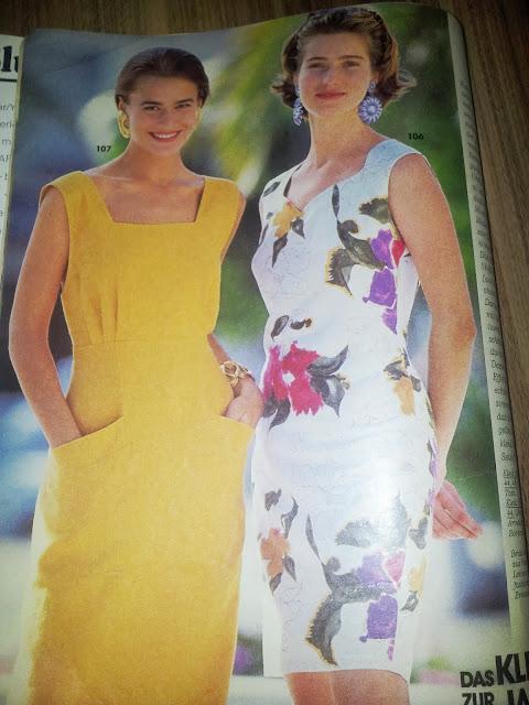 burda dergisinden elbise modeli