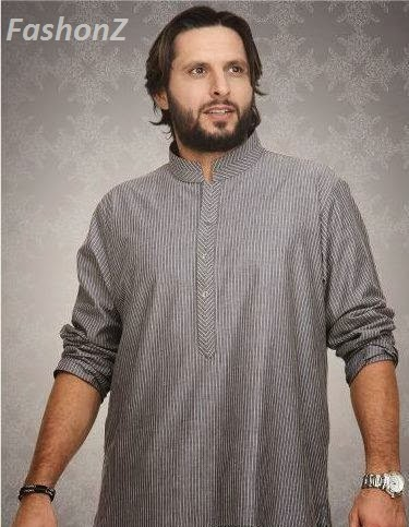 Shahid afridi fashion collection 31