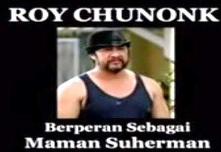 Foto Maman Suherman alias Roy Chunonk Pemain Preman Pensiun yang meninggal dunia karena serangan jantung