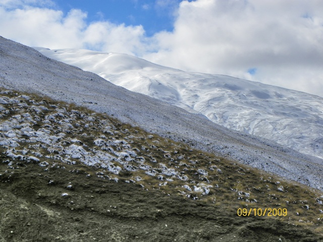 Manto aterciopelado de las montañas de Wanaka