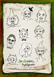 SPOOKICATURES-TM Themed caricatures for Hallowe'en & other events!