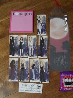 Joleene Naylor, vampire, art work