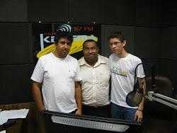 Participação na RÁDIO KERIGMA 87,9 FM