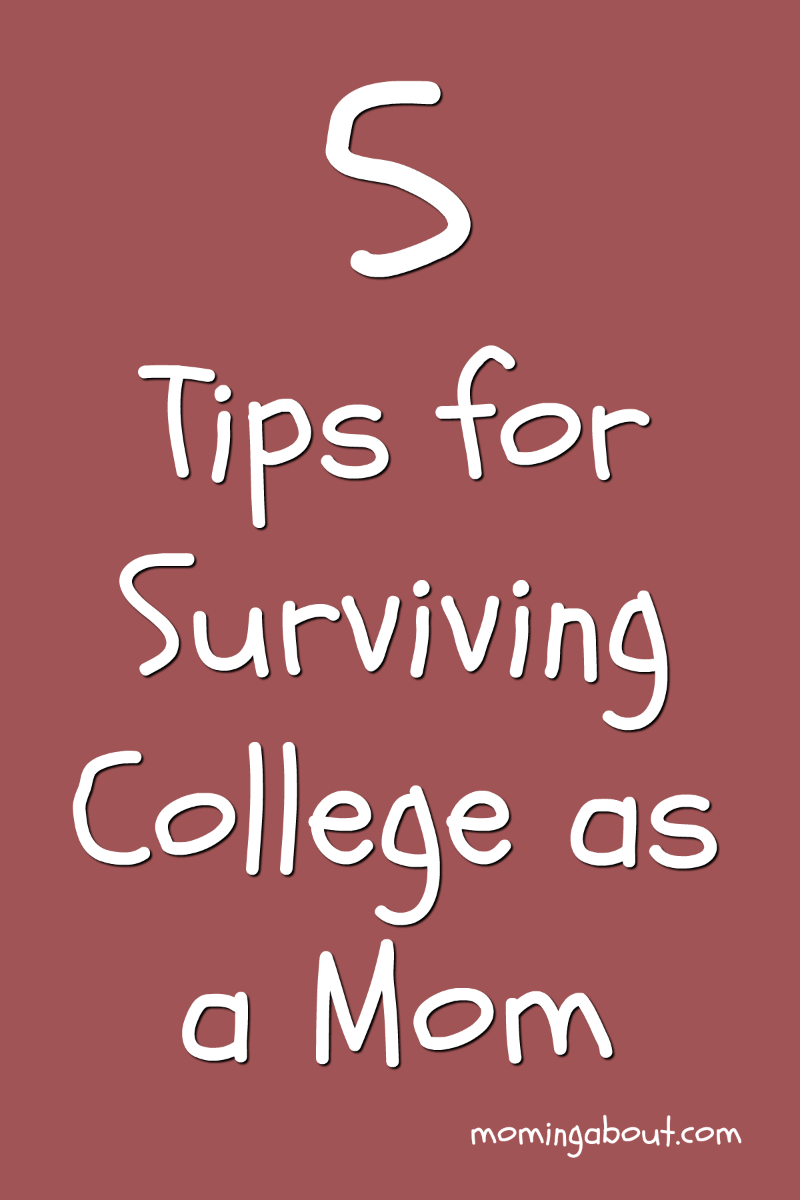 5 Tips for College Moms
