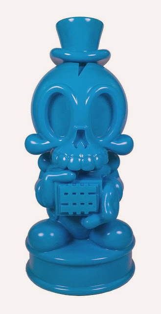 Tenacious Toys Exclusive Blue Modern Hero Vinyl Bank by MAD