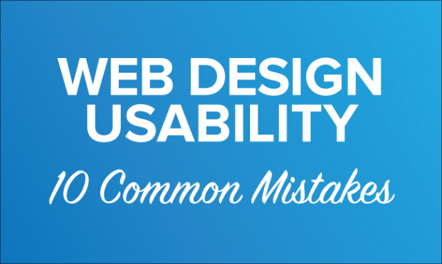 10 Serious Usability Mistakes, You Must Never Do