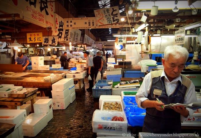 Inside Tsukiji Fish Market - Tokyo, Japan