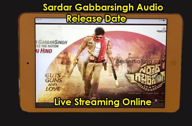 sardaar gabbarsingh audio release date