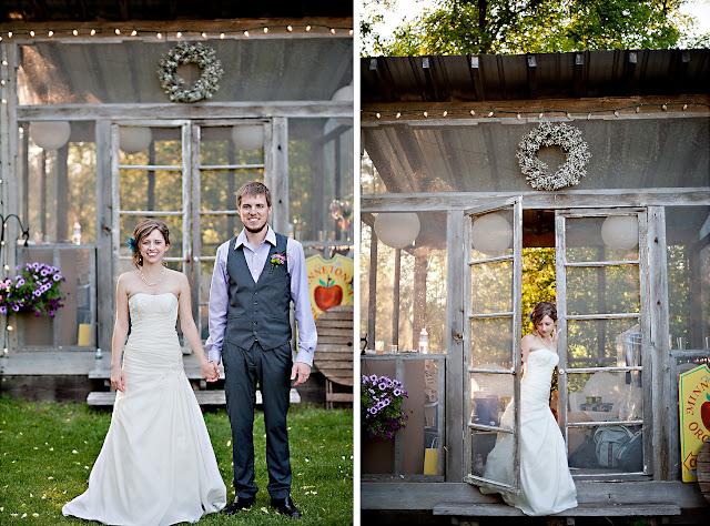 andrea+jord1 Jordan & Andrea { Minnetonka Orchard Wedding }