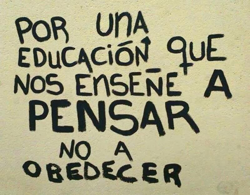 La educación...¡Piensa!