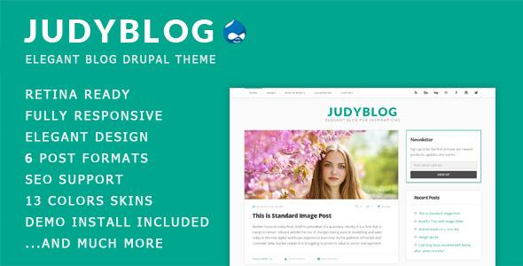 Premium Blog Drupal Theme