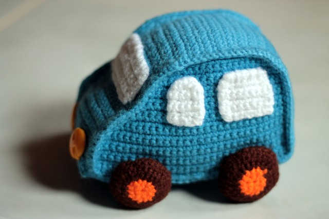 Toys To Crochet Free Patterns : nephithyrion: Crochet Toy Car