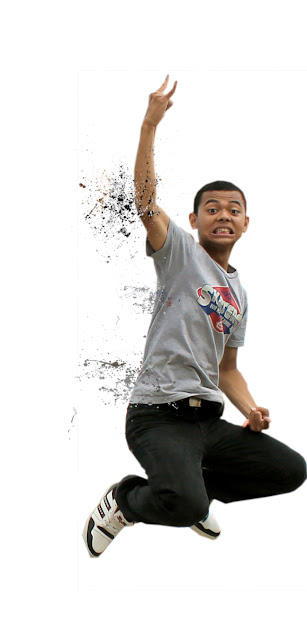 destirasi7 Membuat efek dispersion dengan brush Splatter di photoshop
