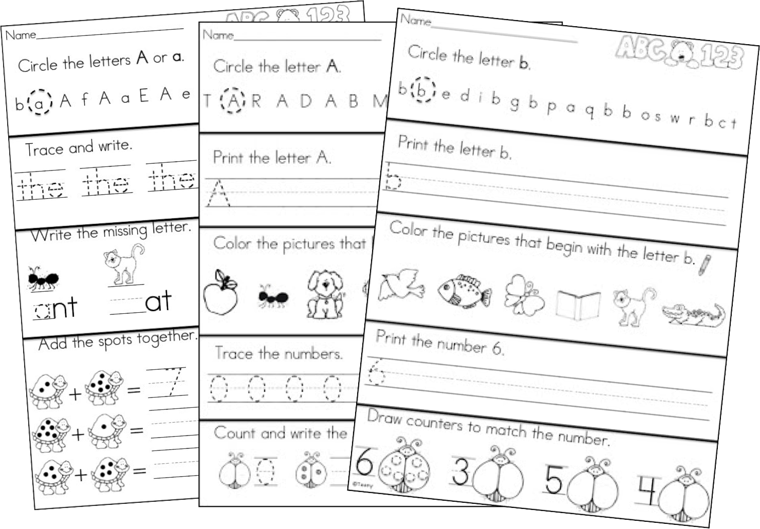 http://www.teacherspayteachers.com/Product/Kindergarten-Morning-Work-Daily-Language-Arts-and-Math-Review-466854