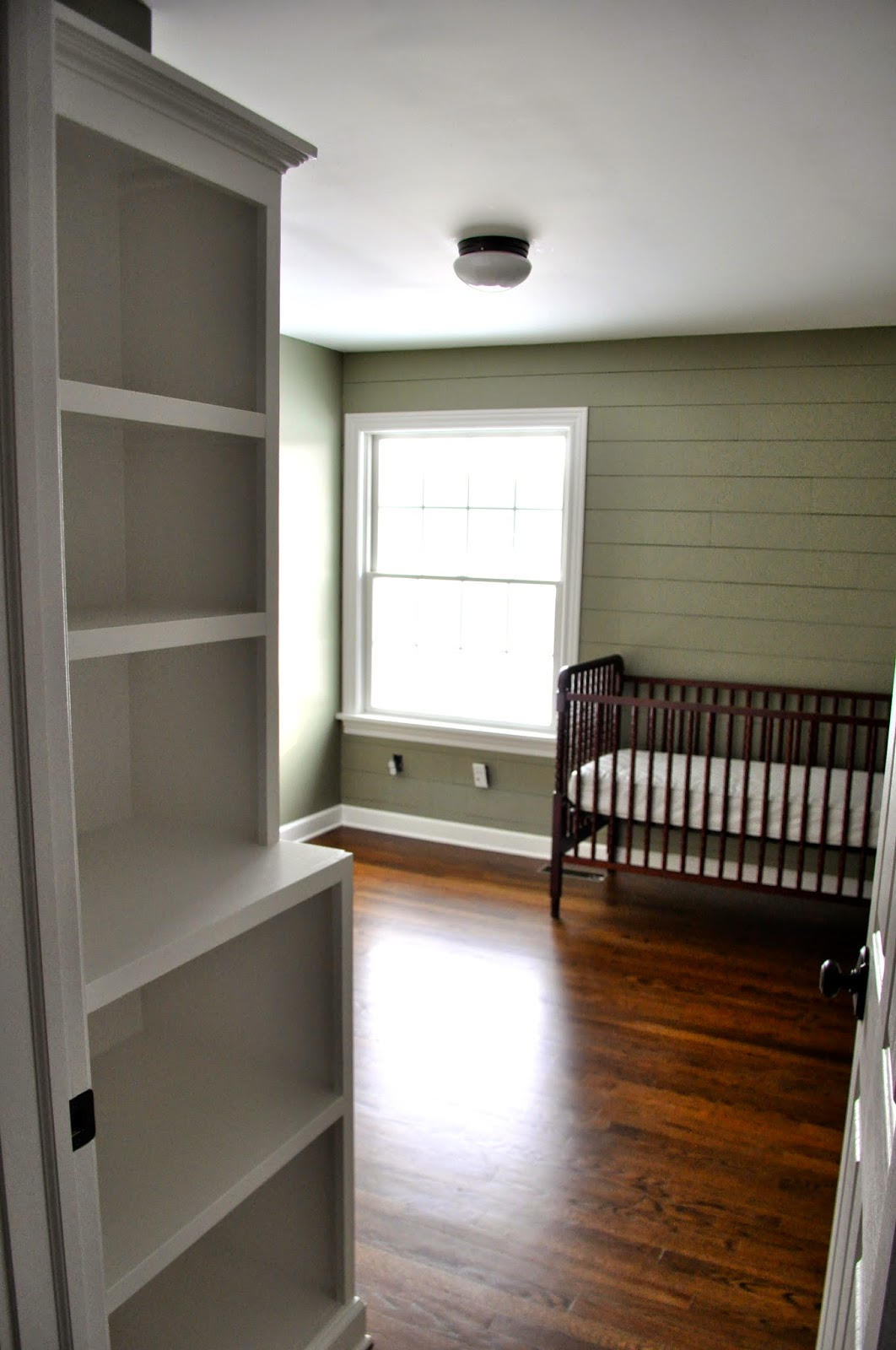 Building A Built In Bookcase, Nursery