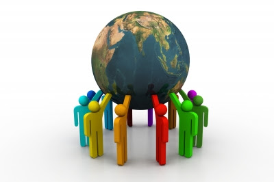 group of individuals working together to achieve a common goal Comprehensive list of synonyms for groups of people who work together, by macmillan dictionary and thesaurus.